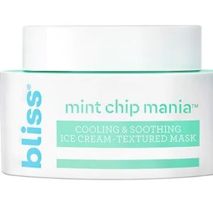 Bliss Mint Chip Mania Super Cooling Ice Cream Mask
